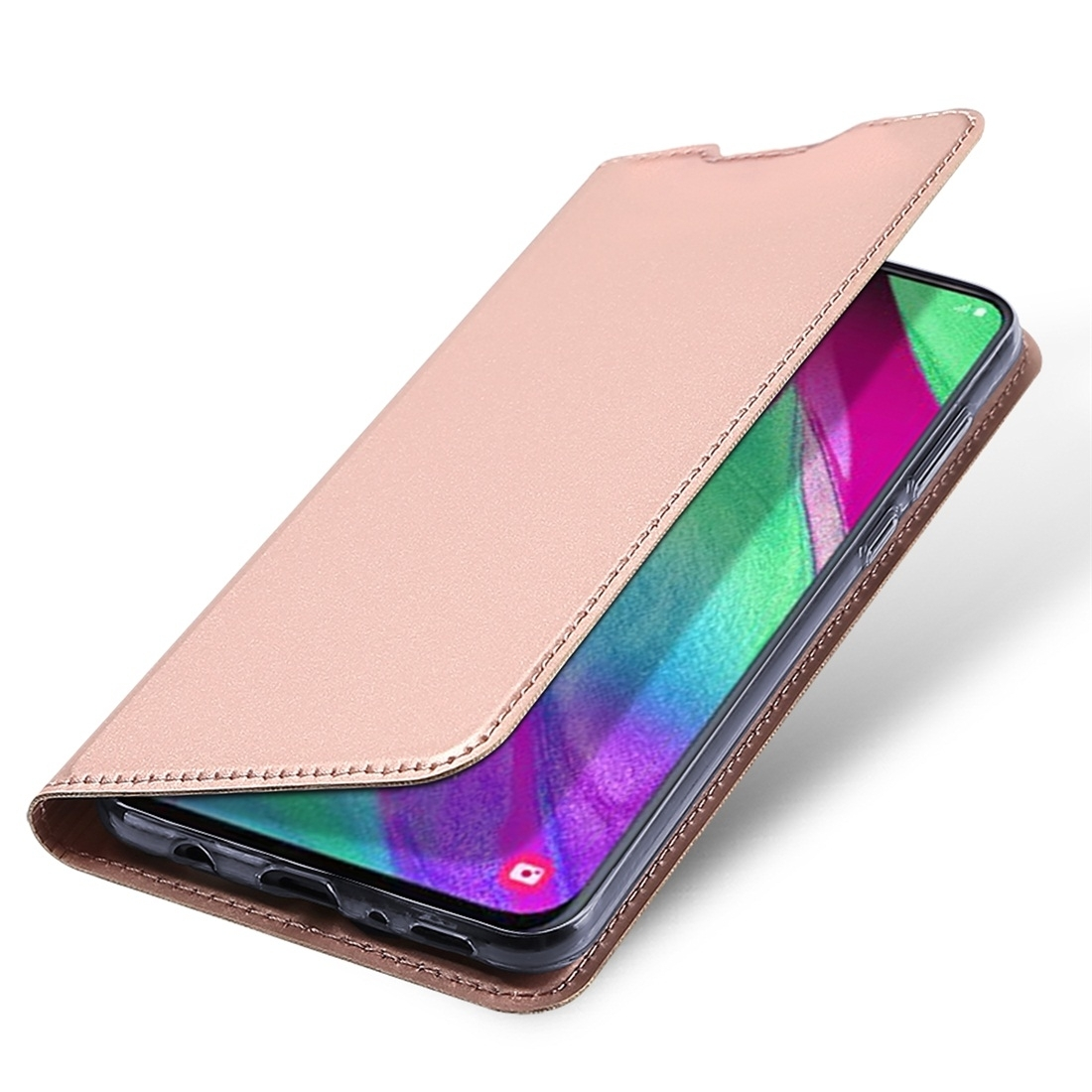 FORCELL DUX Peňaženkový kryt Samsung Galaxy A40 růžový