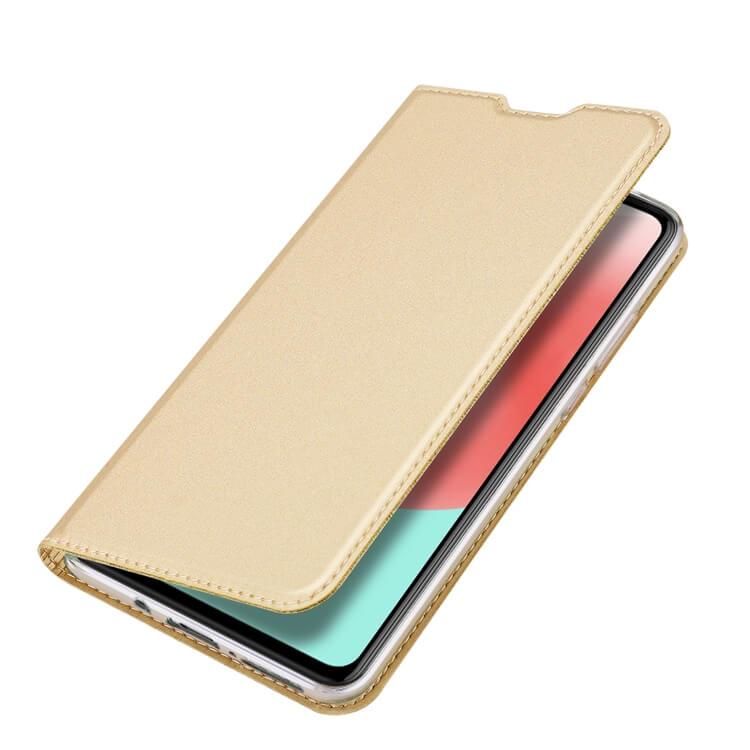 DUX Peňaženkový obal Samsung Galaxy A41 zlatý