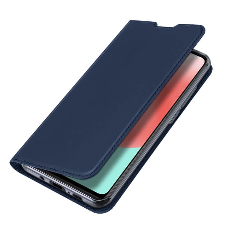 DUX Peňaženkový obal Samsung Galaxy A41 modrý