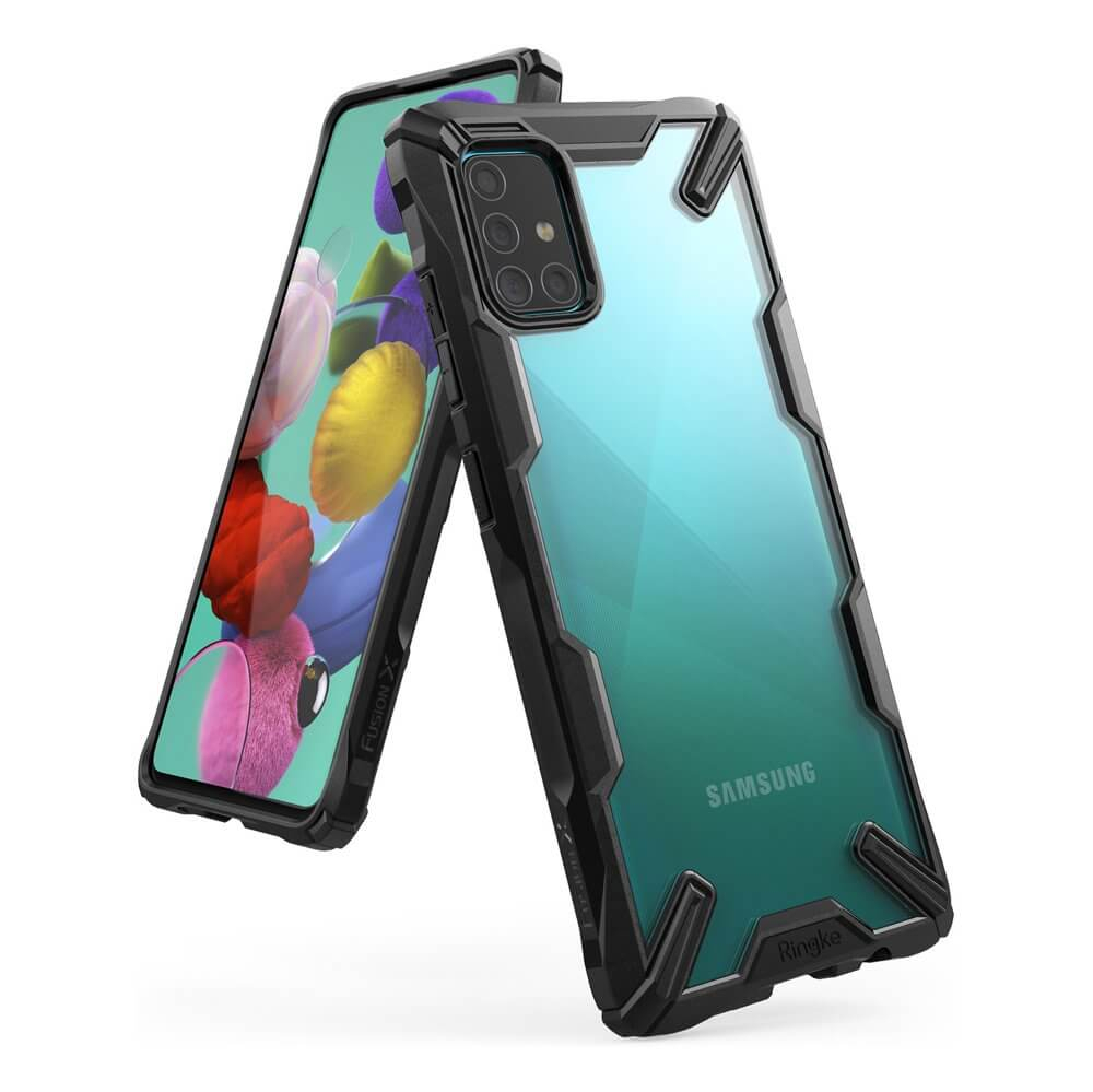 RINGKE FUSION Obal Samsung Galaxy A51 černý