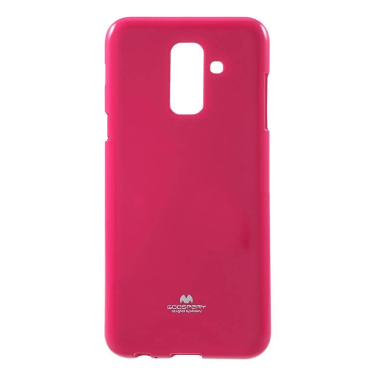 MERCURY JELLY TPU obal Samsung Galaxy A6 (A600) ružový (strong)