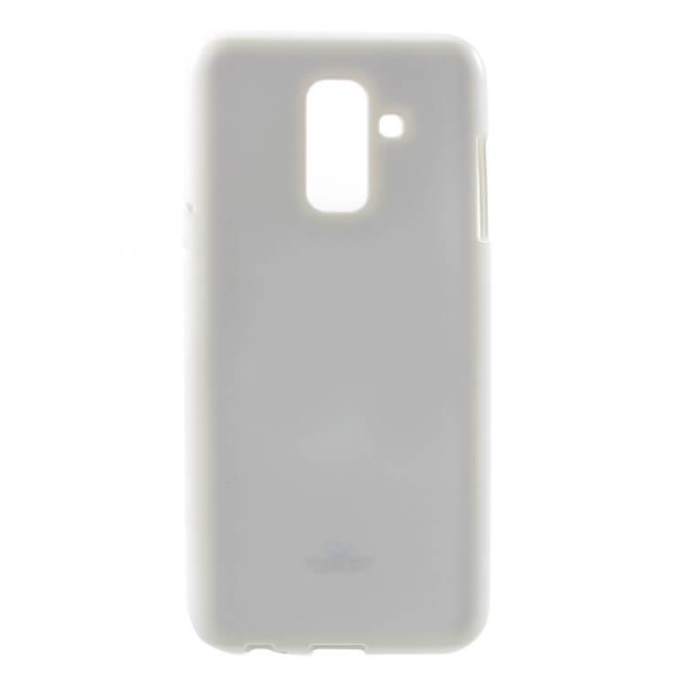 MERCURY JELLY TPU obal Samsung Galaxy A6 (A600) bílý