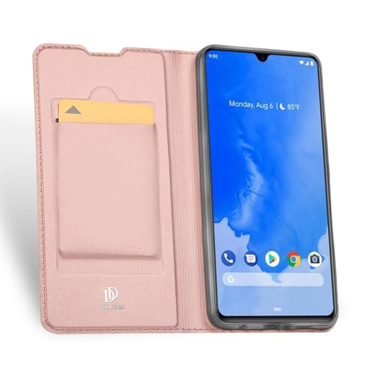 DUX Peňaženkové pouzdro Samsung Galaxy A70 růžové