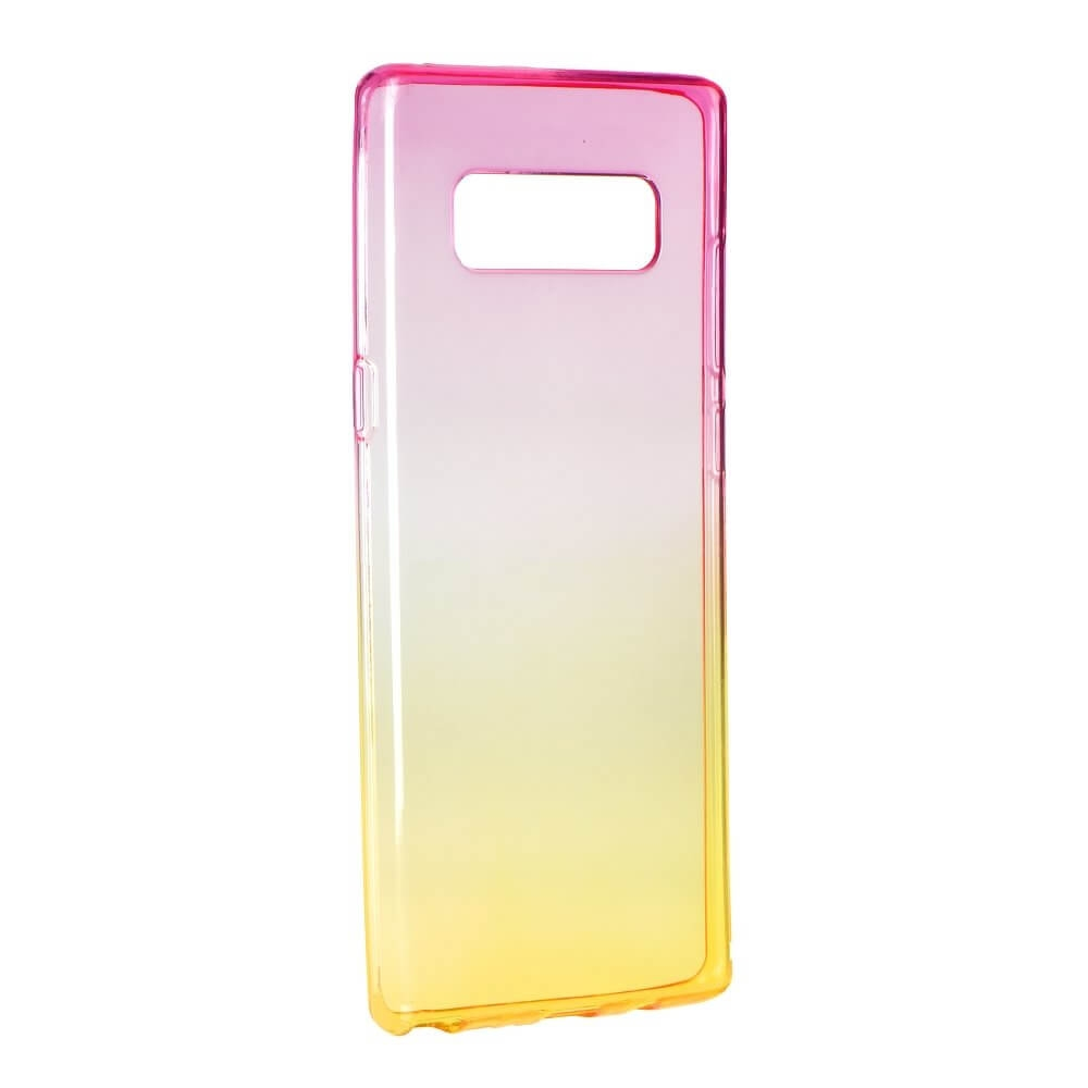 FORCELL OMBRE obal Samsung Galaxy Note 8 růžový