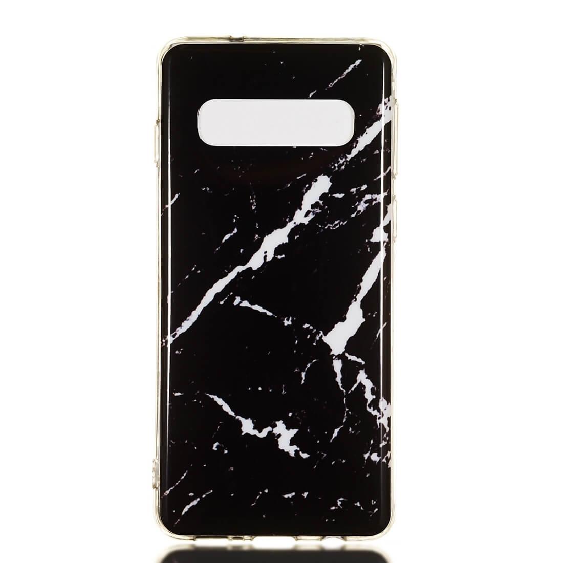FORCELL MARBLE Ochranný kryt Samsung Galaxy S10e BLACK