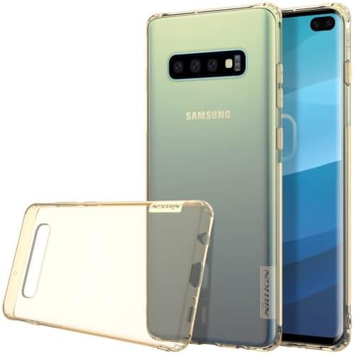 NILLKIN NATURE obal Samsung Galaxy S10 Plus hnedý