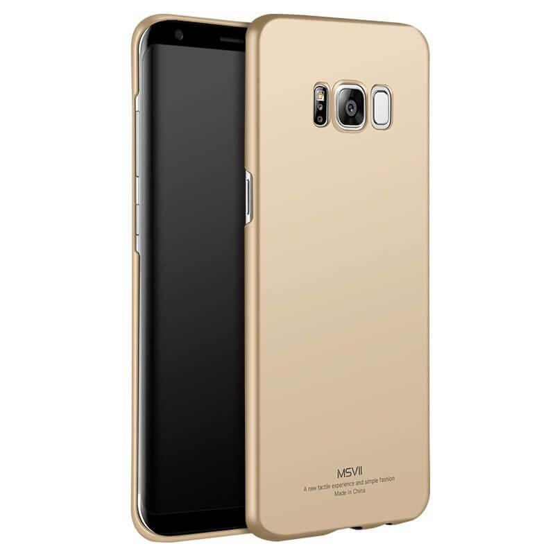 MSVII Ultratenký obal Samsung Galaxy S8 zlatý c6ebac29977