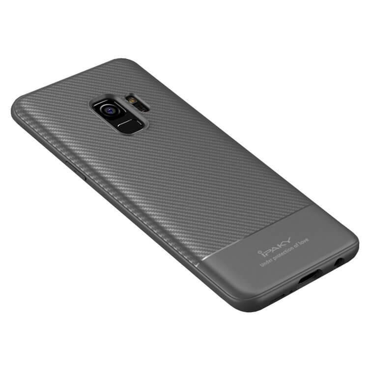 IPAKY CARBON Samsung Galaxy S9 šedý