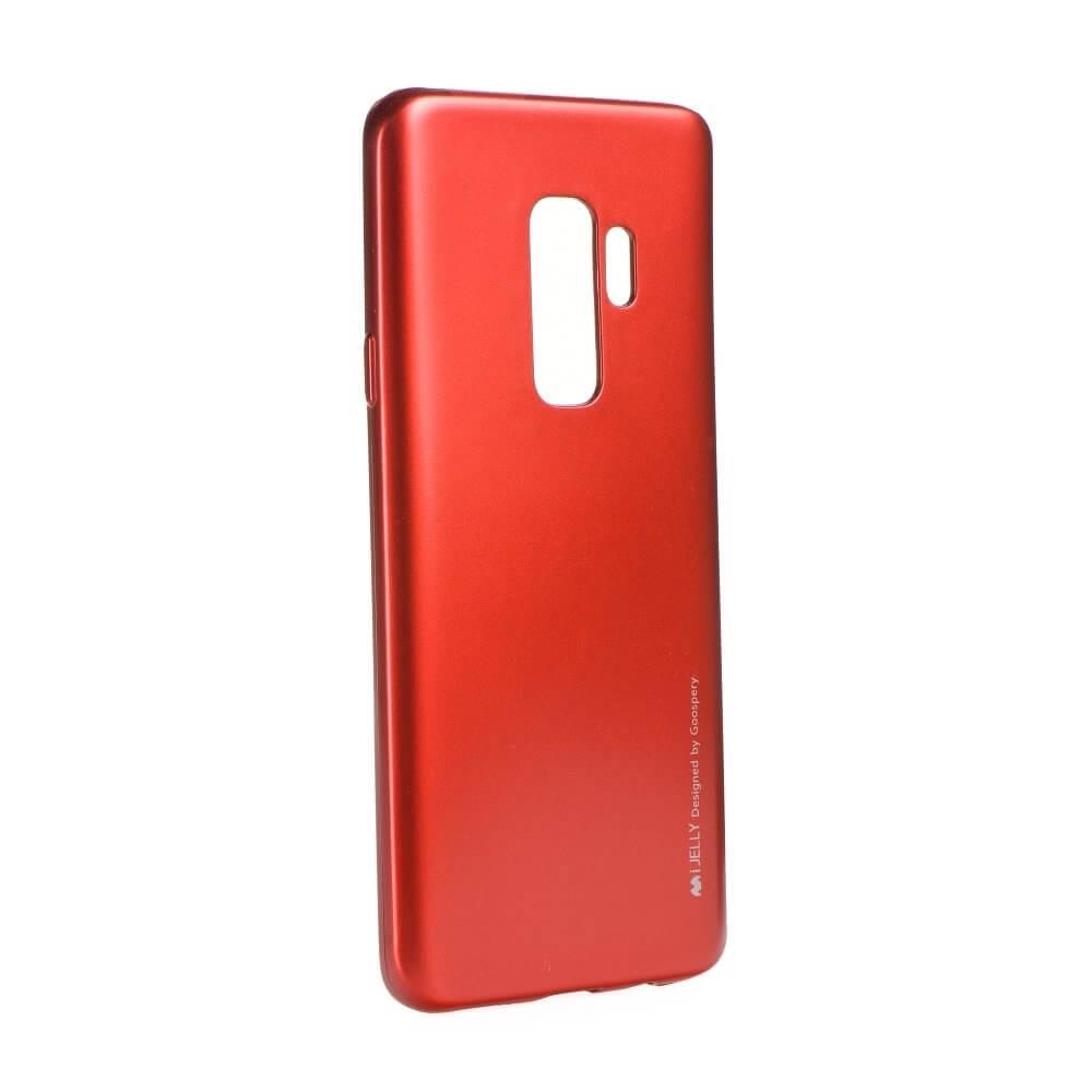 MERCURY I-JELLY obal Samsung Galaxy S9 Plus červený
