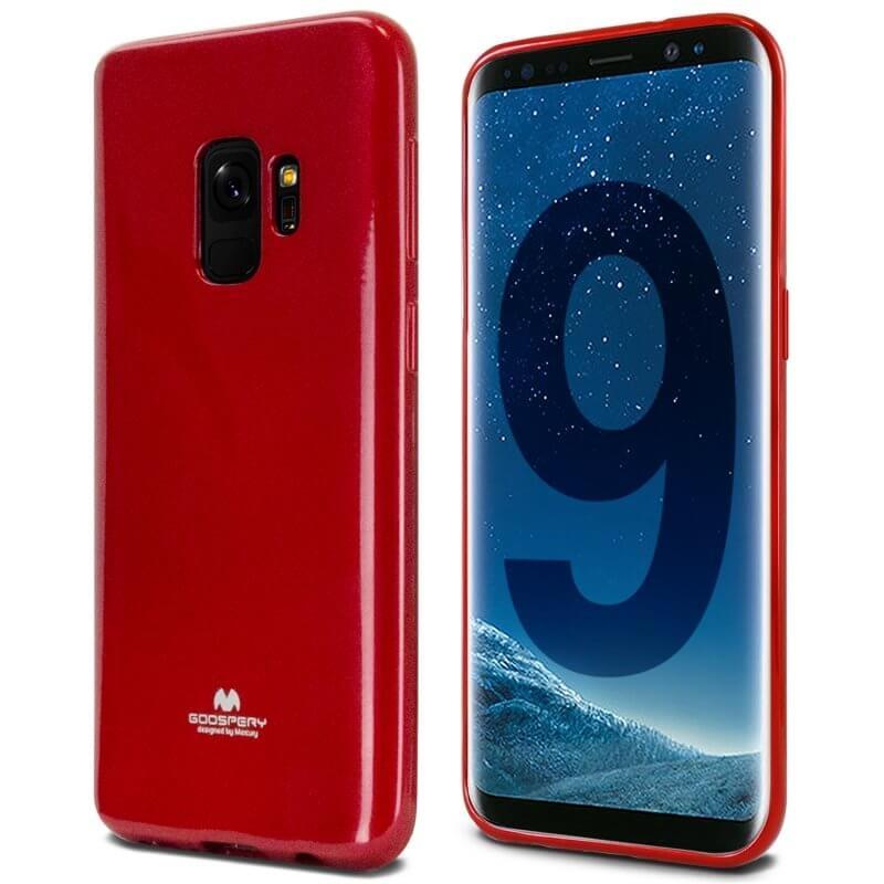 MERCURY JELLY Samsung Galaxy S9 červený