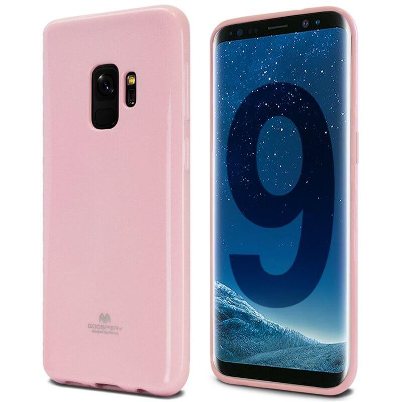 MERCURY JELLY Samsung Galaxy S9 Plus ružový (light)