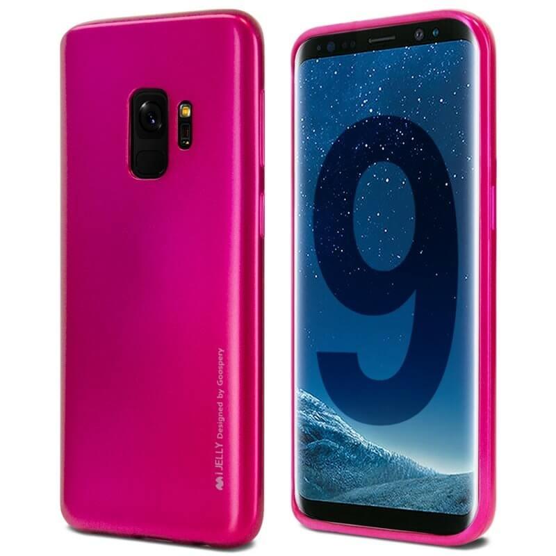 MERCURY I-JELLY obal Samsung Galaxy S9 ružový