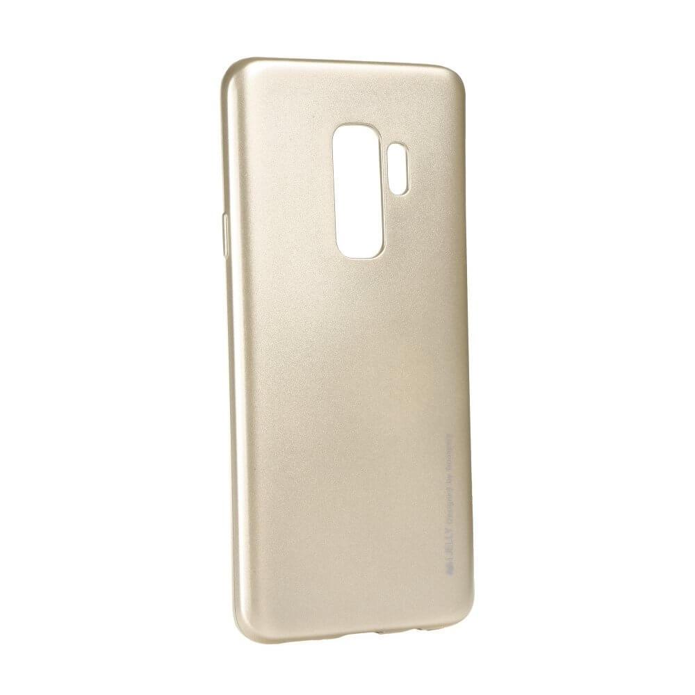 MERCURY I-JELLY obal Samsung Galaxy S9 Plus zlatý