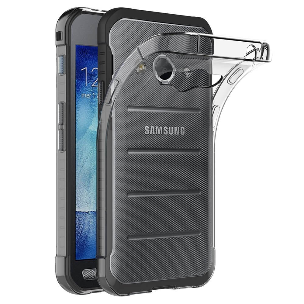 FORCELL Silikonový obal Samsung Galaxy Xcover 3 průhledný