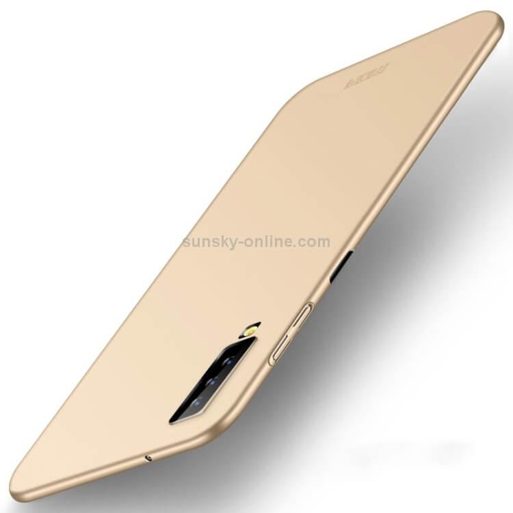 MOFI Ultratenký obal Samsung Galaxy A7 2018 (A750) zlatý