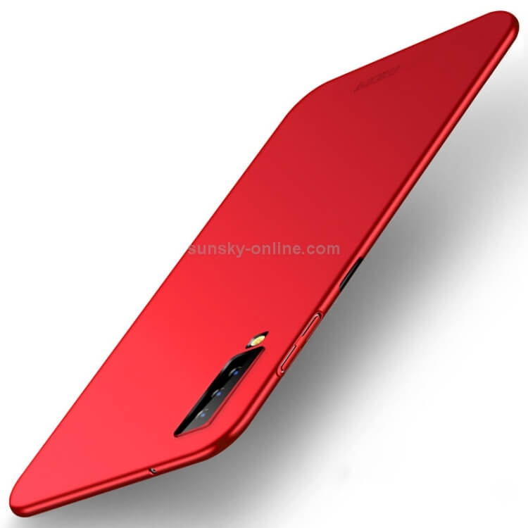 MOFI Ultratenký obal Samsung Galaxy A7 2018 (A750) červený