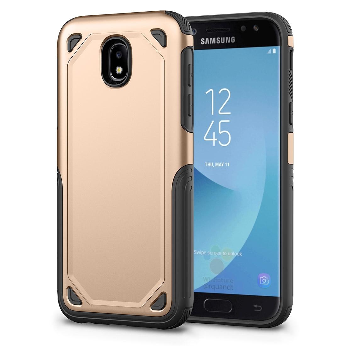FORCELL SHOCKPROOF Ochranný kryt Samsung Galaxy J5 2017 (J530) zlatý