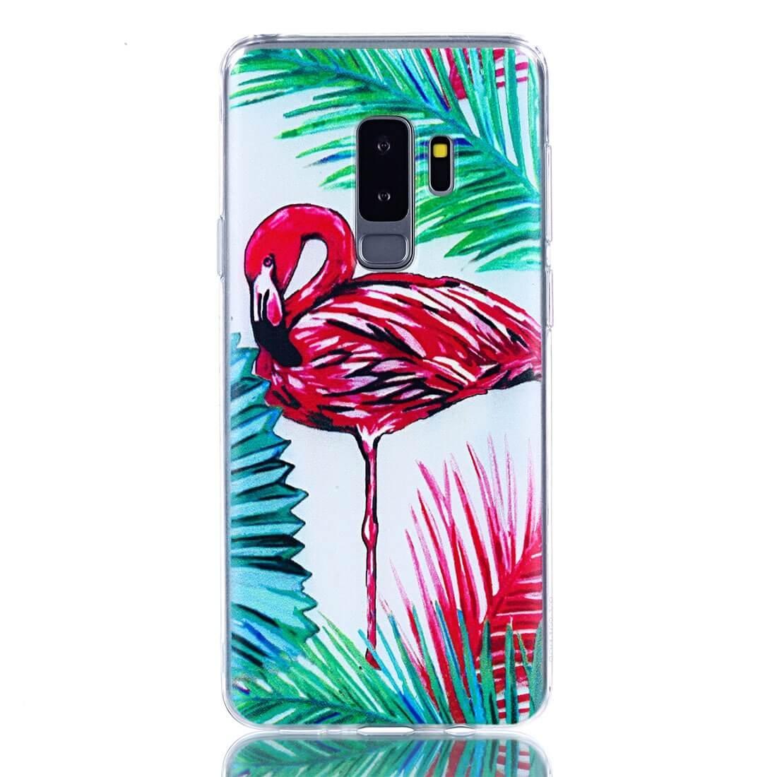 FORCELL ART Silikónový kryt Samsung Galaxy S9 Plus FLAMINGO