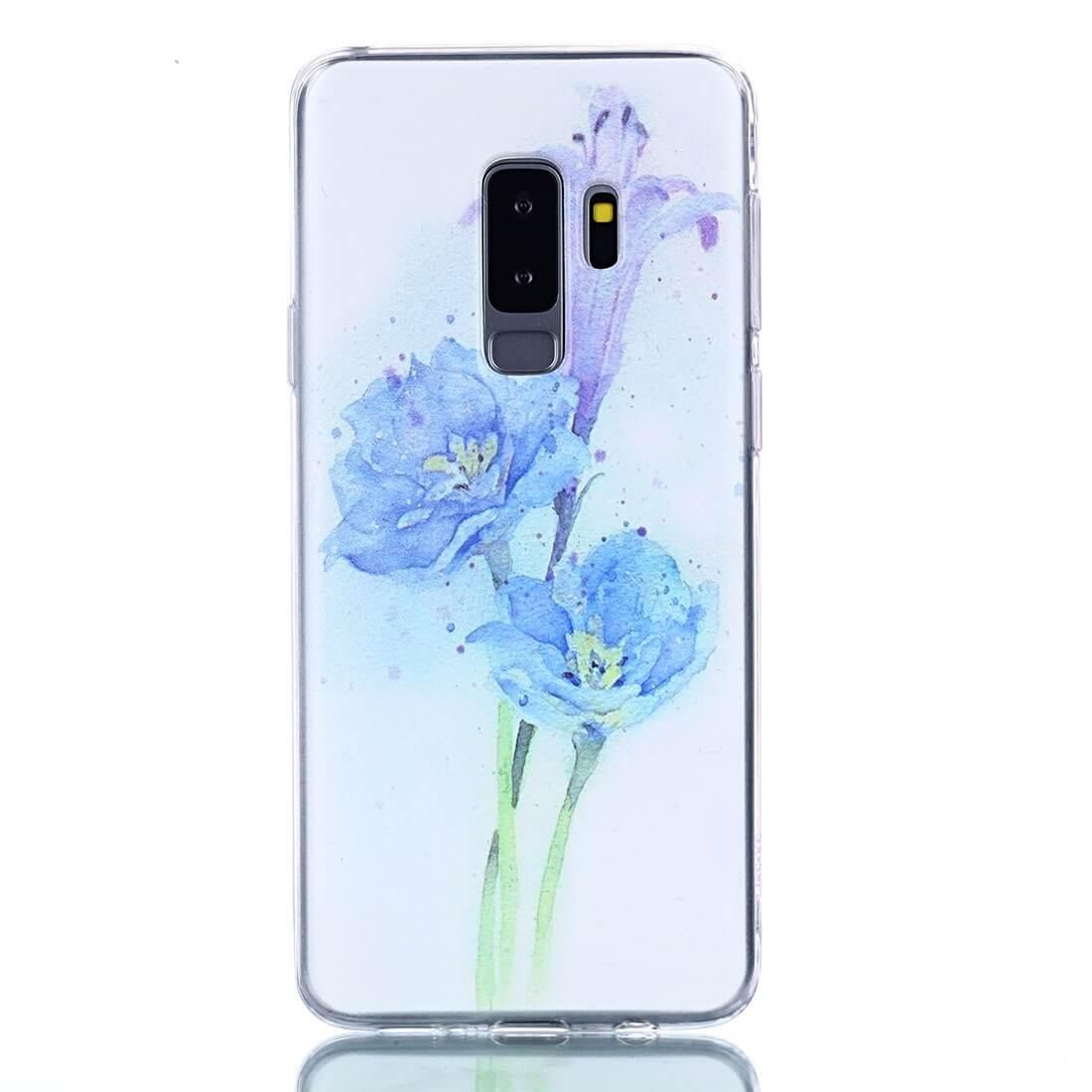 FORCELL ART Silikónový kryt Samsung Galaxy S9 Plus FLOWER
