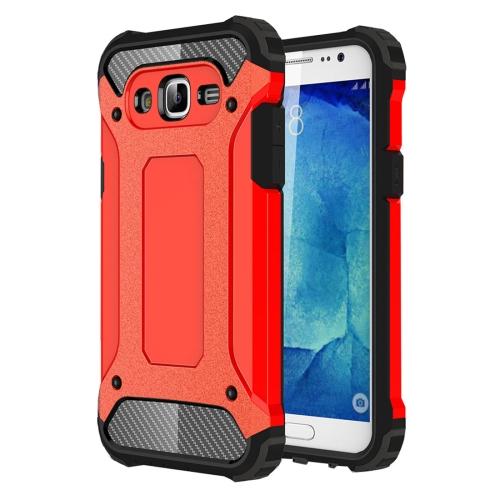 FORCELL TOUGH Ochranný kryt Samsung Galaxy J5 2015 (J500) červený