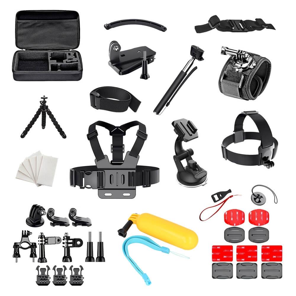 58c1158e572 FORCELL 50v1 set příslušenství pro akční kamery