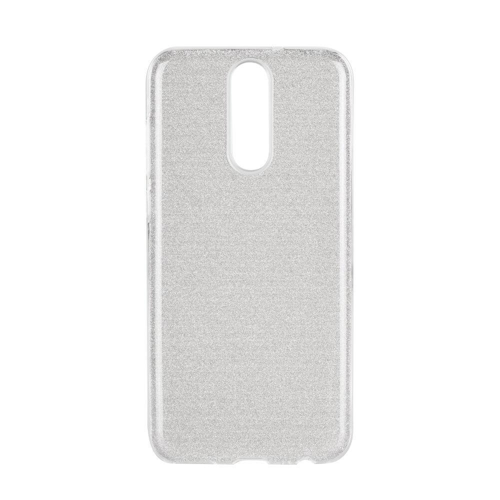 FORCELL SHINING Ochranný obal Huawei Mate 10 Lite stříbrný