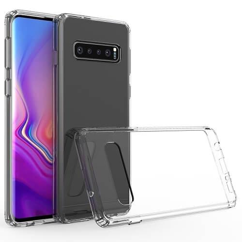 FORCELL Odolný obal Samsung Galaxy S10 průhledný