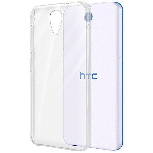 FORCELL Silikónový kryt HTC Desire 620 priehľadný