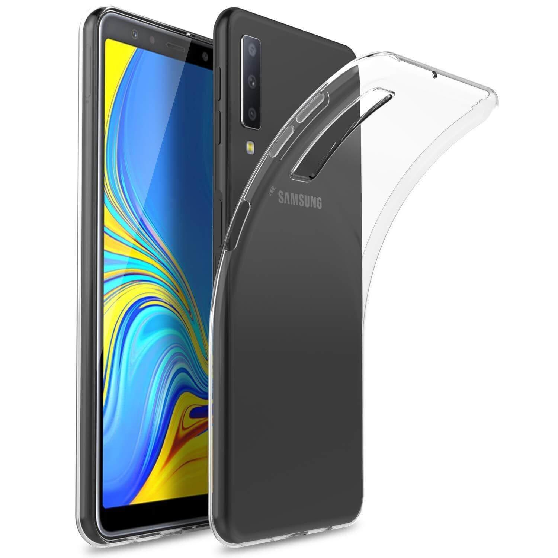 FORCELL Silikonový obal Samsung Galaxy A7 2018 (A750) průhledný
