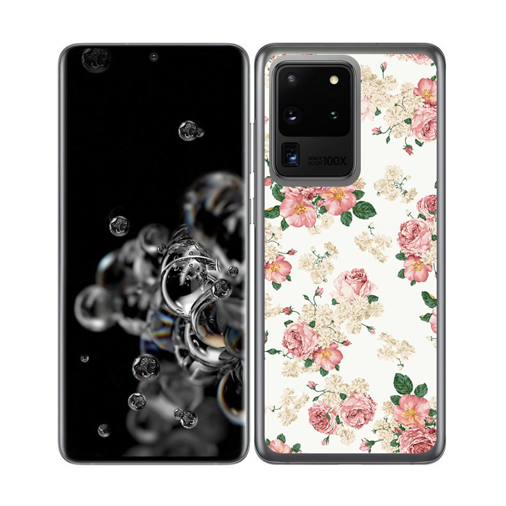 Levně FORCELL MY ART Ochranný kryt Samsung Galaxy S20 Ultra PINK ROSE S (016)