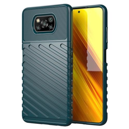 FORCELL THUNDER Ochranný kryt Xiaomi Poco X3 NFC zelený