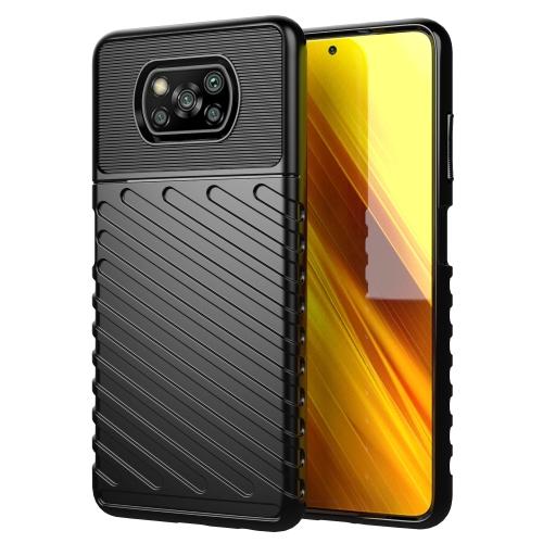 FORCELL THUNDER Ochranný kryt Xiaomi Poco X3 NFC čierny