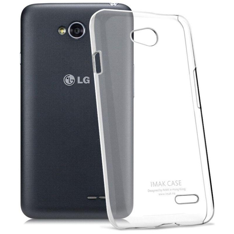 FORCELL Silikonový obal LG L70 / LG L65 průhledný