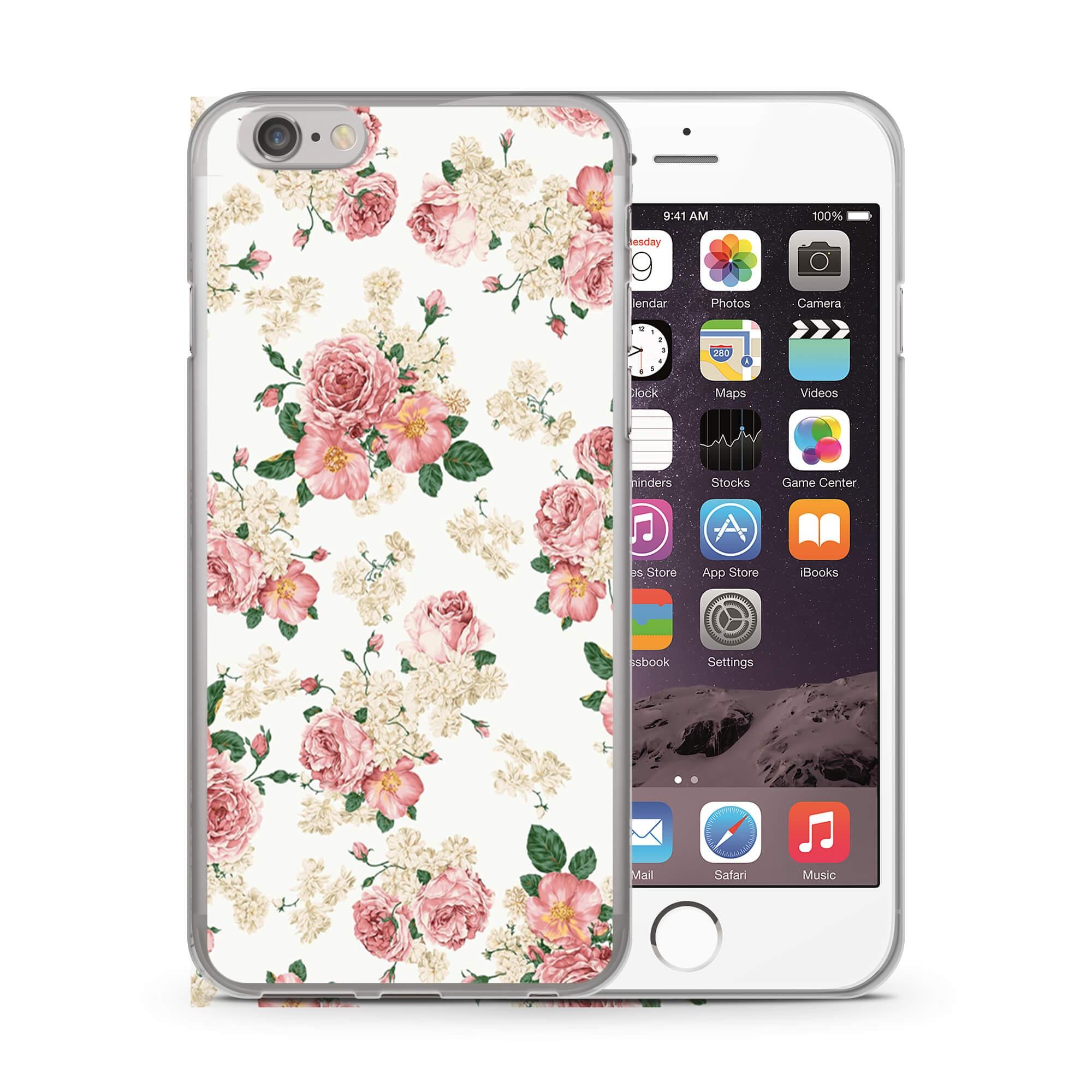 MY ART kryt Apple iPhone 6 Plus   6S Plus PINK ROSES (016) a276b88dc02