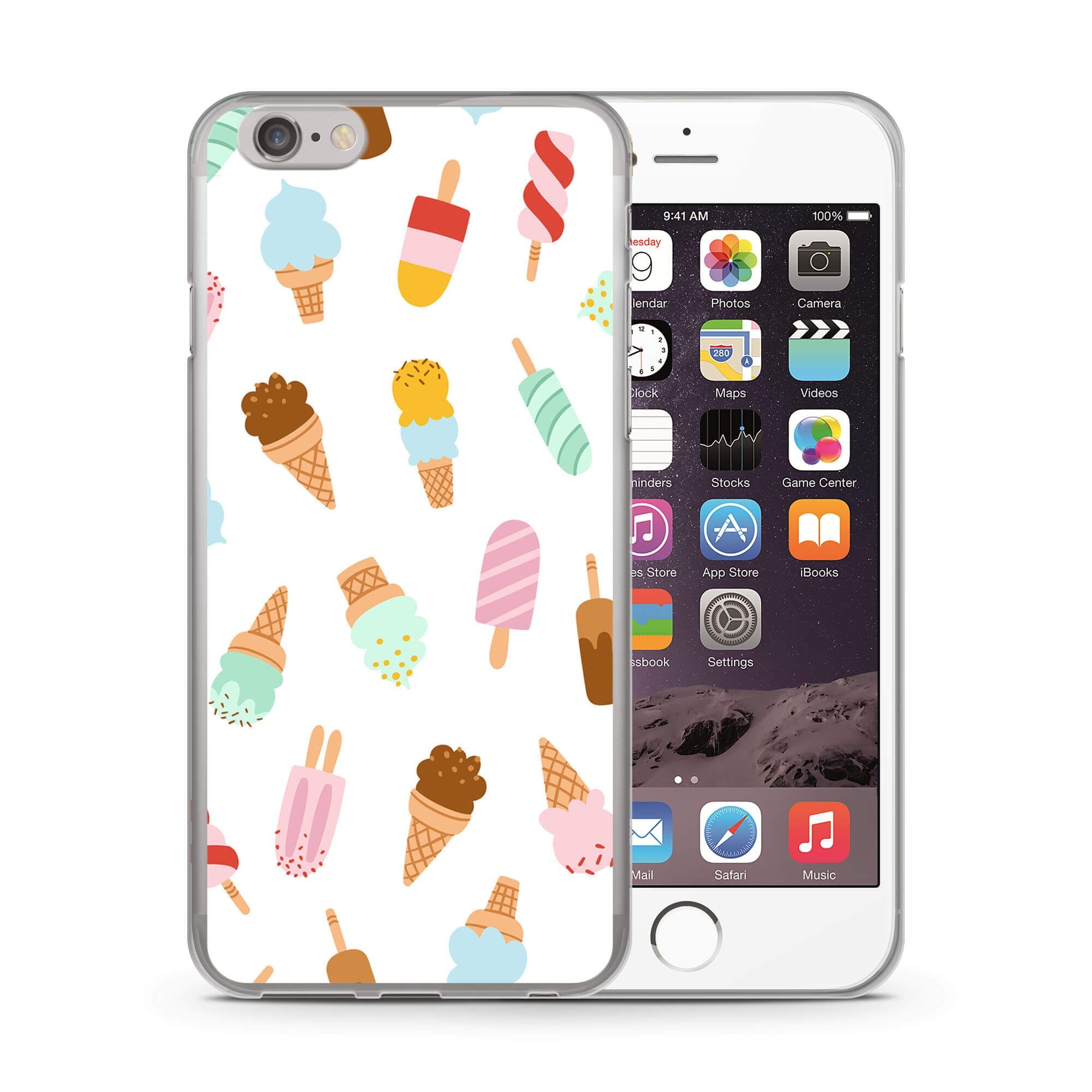 MY ART kryt Apple iPhone 6   6S BE ICE CREAM (020) 1d9e9af5fc4