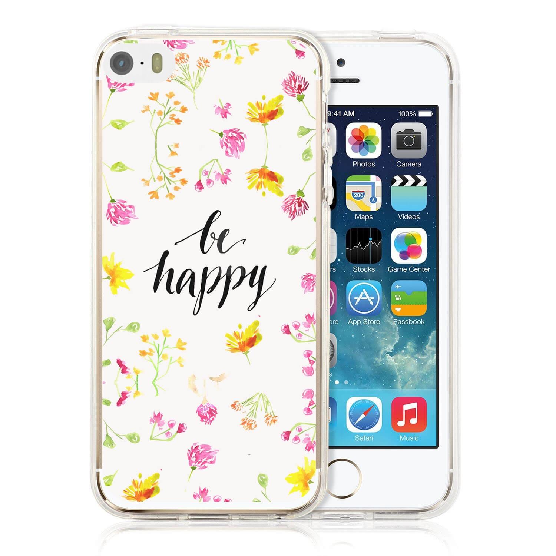 MY ART kryt Apple iPhone 5   5S   SE BE HAPPY (019) 34427565083
