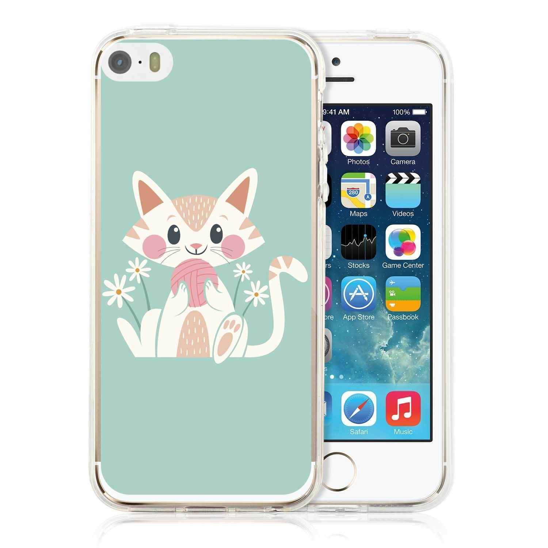 MY ART kryt Apple iPhone 5 / 5S / SE CAT (007)