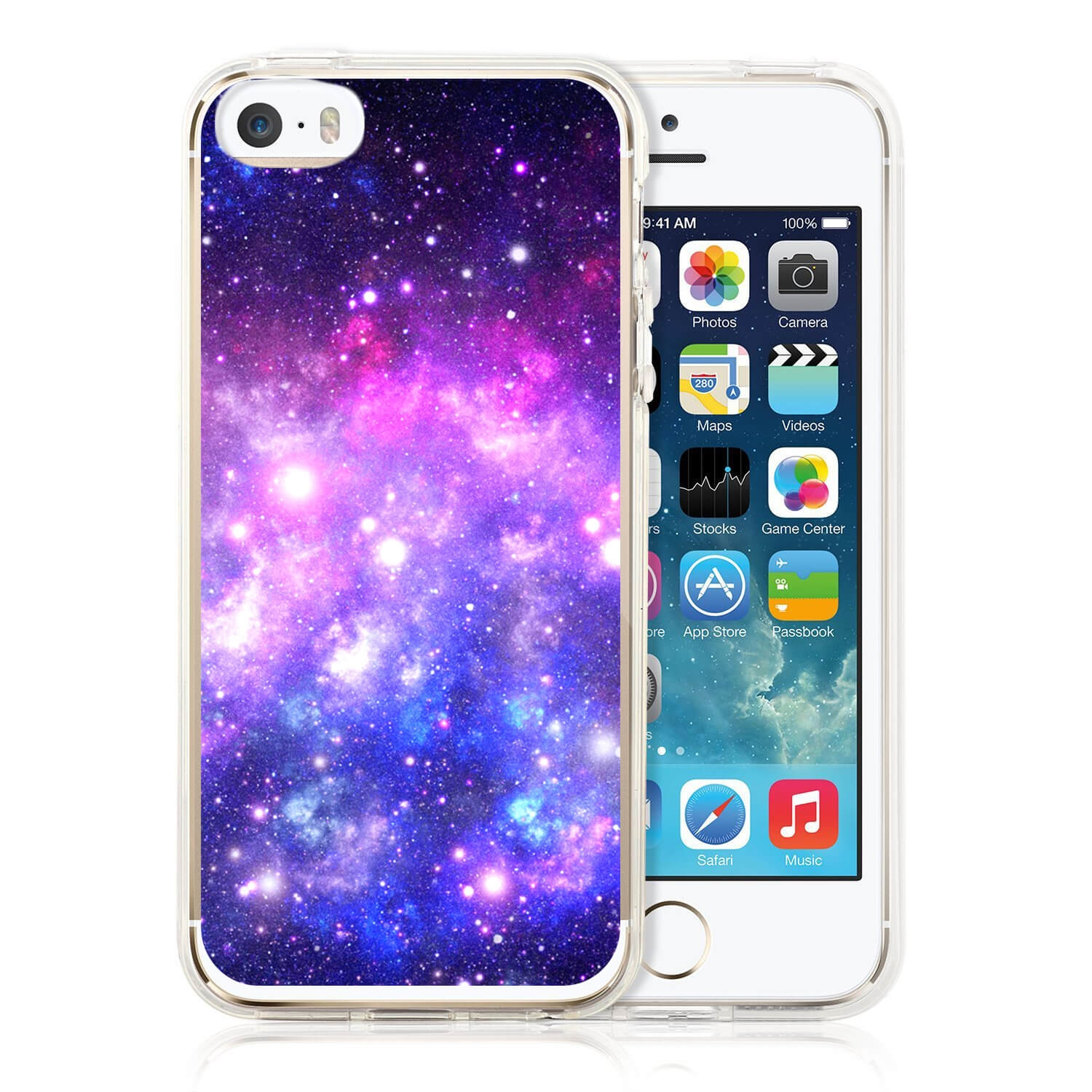 MY ART kryt Apple iPhone 5   5S   SE GALAXY (015) cf4e2b799bf