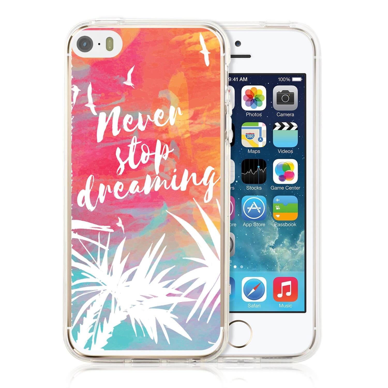 MY ART kryt Apple iPhone 5   5S   SE NEVER STOP DREAMING (028) cd3902bd527