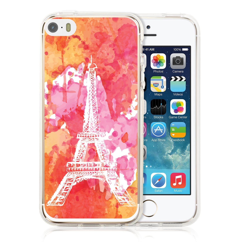 MY ART kryt Apple iPhone 5 / 5S / SE PARIS (026)