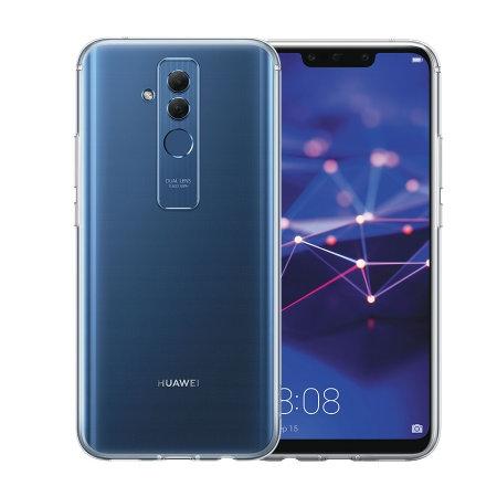 FORCELL Silikonový průhledný obal Huawei Mate 20 Lite