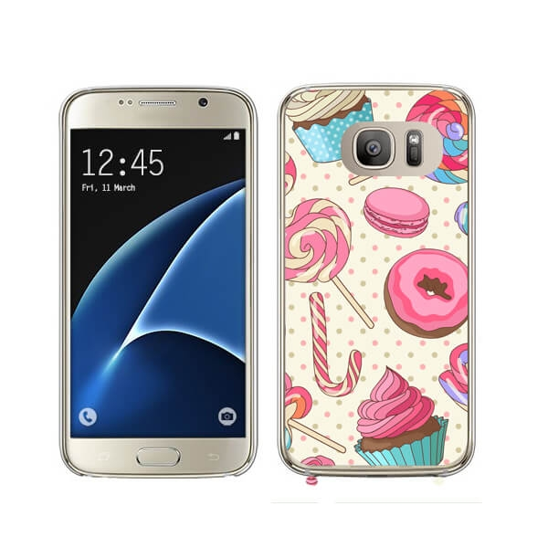 FORCELL MY ART kryt Samsung Galaxy S7 Edge CANDY (030)