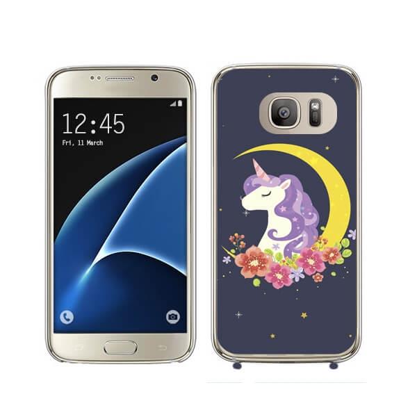 FORCELL MY ART kryt Samsung Galaxy S7 Edge UNICORN (031)