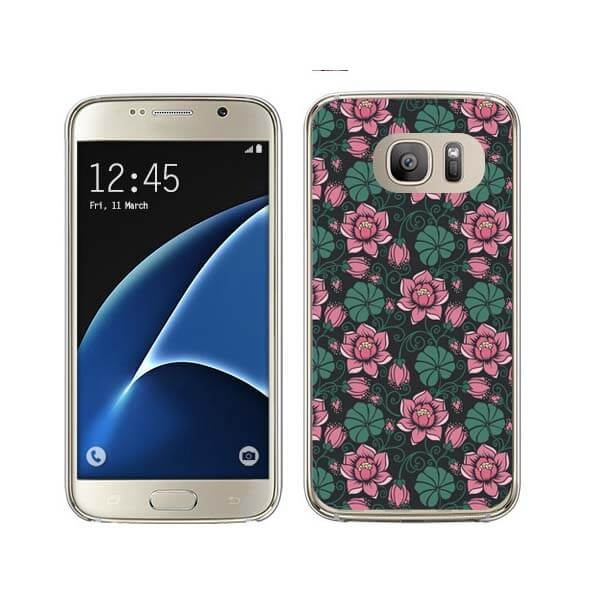 FORCELL MY ART kryt Samsung Galaxy S7 Edge FLOWERS (005)