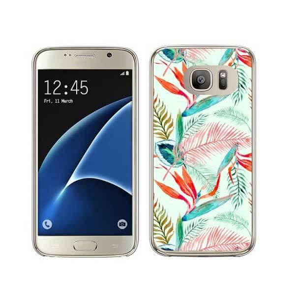 FORCELL MY ART kryt Samsung Galaxy S7 Edge GREEN (003)