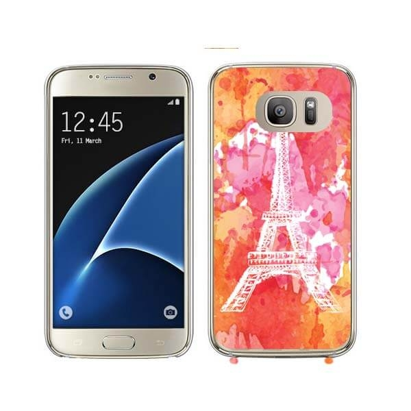 FORCELL MY ART kryt Samsung Galaxy S7 Edge PARIS (026)