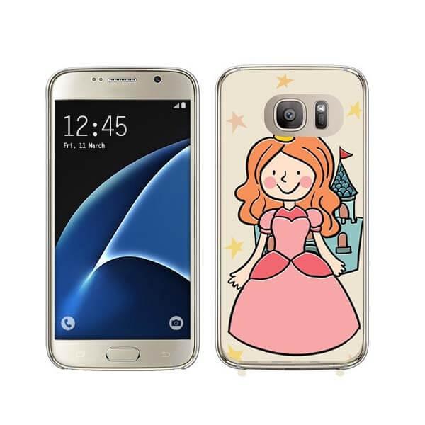 FORCELL MY ART kryt Samsung Galaxy S7 Edge PRINCESS (025)