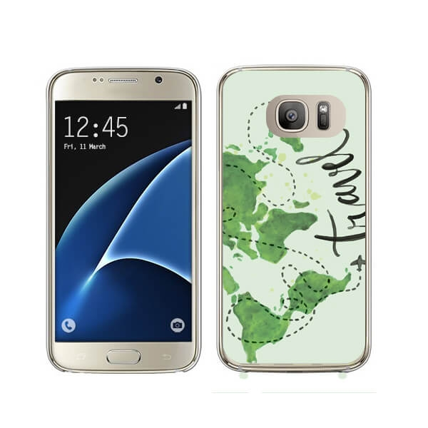 FORCELL MY ART kryt Samsung Galaxy S7 Edge TRAVEL (032)
