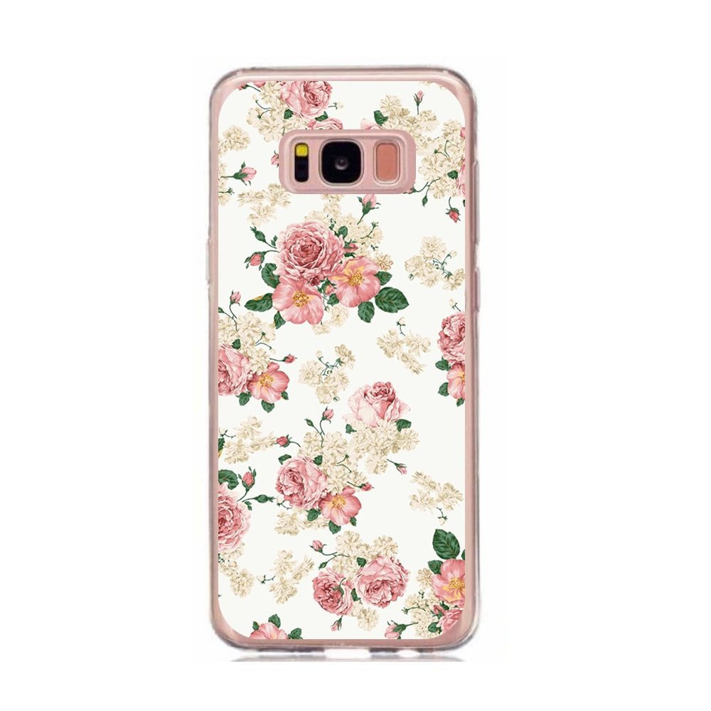 MY ART obal Samsung Galaxy S8 PINK ROSES (016) 5a876411541