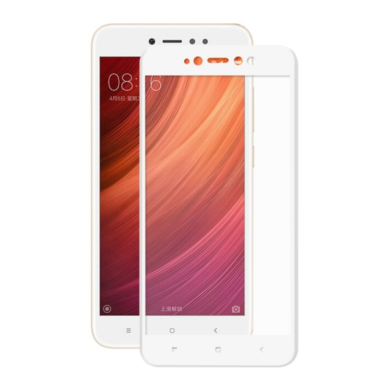 FORCELL 3D Tvrzené sklo Xiaomi Redmi Note 5A bílé